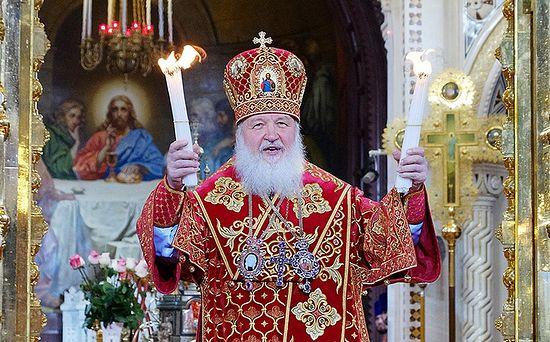 картинка-Пасхальное послание патриарха Кирилла